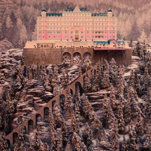 Grand Budapest Hotel: Hügel